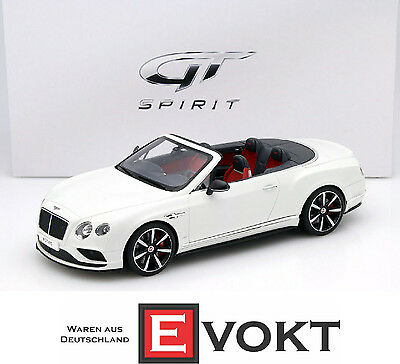 1:18 GT Spirit Bentley Continental GT V8S Convertible 2014 white
