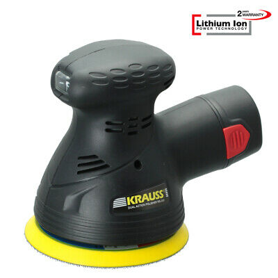 Lithium Ion Akku 14,4V/2,0Ah Dual Action Exzenter Poliermaschine Polierer RS300