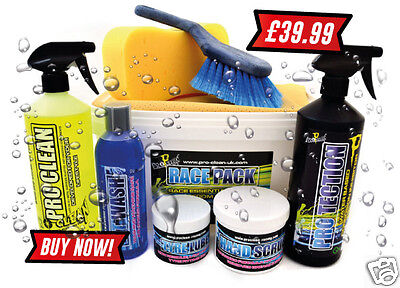 Pro Clean Race Pack for Motorcycle/Motocross Bikes Cleaner & Maintainance