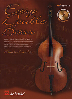 Easy Double Bass Sheet Music Book with CD 13 Pieces for Beginners