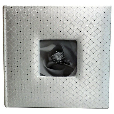 White Diamond Patterned Wedding Album 200 Photo 5x7 size (1 Album)