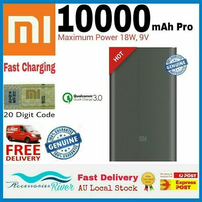 Xiaomi Mi - ZMI 10000mAh PRO USB Mobile Power Bank Portable Type-C Fast Charger