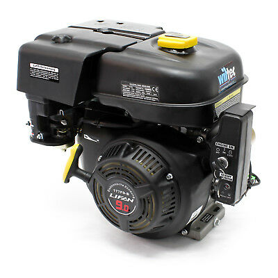 "LIFAN 177 petrol gasoline engine 6.6kW (9HP) 1"" (25.4mm) air-cooled E-start"