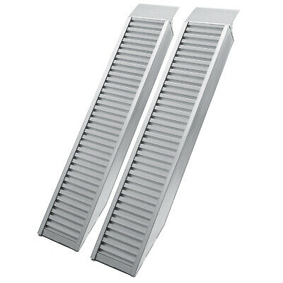 "2x loading ramp 63x12"" 8920lbs (161cm 4050kg) scooter ramp ATV aluminium"