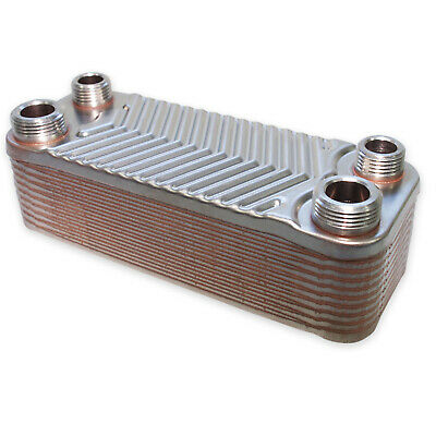 Hrale Stainless Steel Heat Exchanger 20 Plates max. 44 kW Plate Heat Exchanger