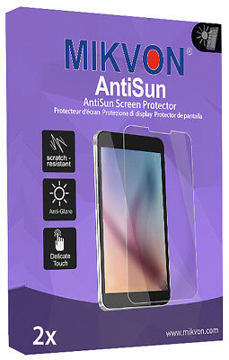 2x Mikvon AntiSun Screen Protector for TomTom Rider 400 Retail Package