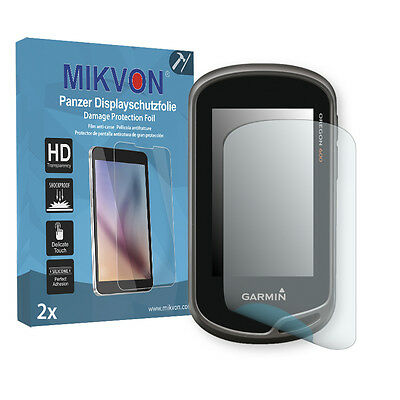 2x Mikvon Armor Screen Protector for Garmin Oregon 650t Retail Package
