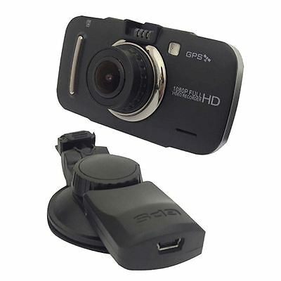 Silent Witness Full HD 1080p 8GB Car Camera Dash Cam Video Recorder with GPS New