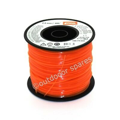 Genuine Stihl 2.4mm x 855ft Square Strimmer & Brushcutter Nylon Line 00009302612
