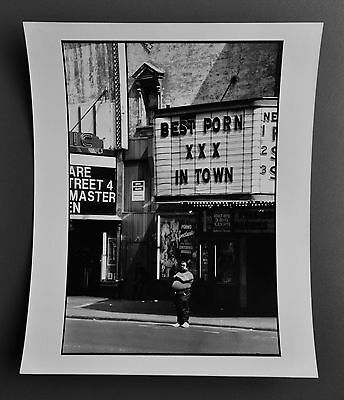 Leon Supraner New York Vintage Silver Gelatin Photo 20x25 Best Porn XXX in Town