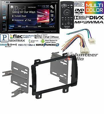 Pioneer Double Din DVD CD Player Car Radio Install Mount Kit Harness Antenna
