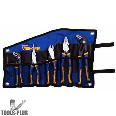 Pliers Set 5-Piece Traditional and GrooveLock Irwin Vise Grip 1802536 New