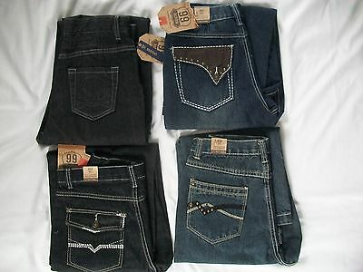 Boys Husky 14H 16H DENIM Fashion JEANs by Route 66 *NEW*
