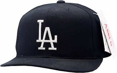Los Angeles Dodgers Youth Snapback Hat Flat Bill Logo Block 11775