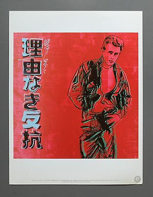 Andy Warhol Foundation Ltd. Ed. Offset Lithography - James Dean, Rebel, 1985