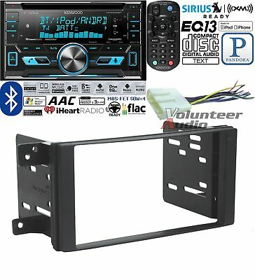 Kenwood Excelon Double Din CD Player Car Install Kit Harness Bluetooth
