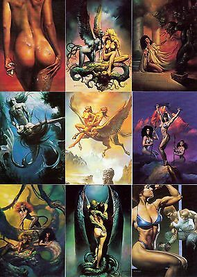 Boris Vallejo Series 2 1992 Comic Images Complete Base Card Set Of 90 Fa