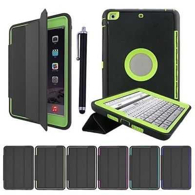 Heavy Duty Shockproof Smart Case Cover For Ipad 2 3 4 Mini 1 2 3 4 Air Pro