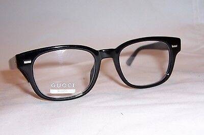 NEW GUCCI EYEGLASSES GG 1081 GG1081 4UA BLACK 50mm RX AUTHENTIC