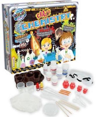 Wild Science Crazy Chemistry Extra Large 3 in 1 Educational Learning Toys