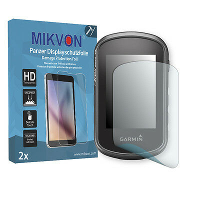 2x Mikvon Armor Screen Protector for Garmin eTrex Touch 35 Retail Package