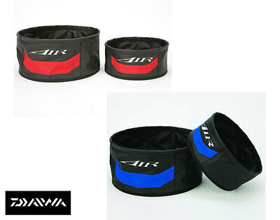 New Daiwa Air Groundbait Bowl - All Colours and Sizes - Red/Blue - Med/Lge