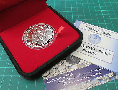 2002 SILVER PROOF GOLD PLATED JERSEY £5 COIN  QUEENS GOLDEN JUBILEE boxed/COA