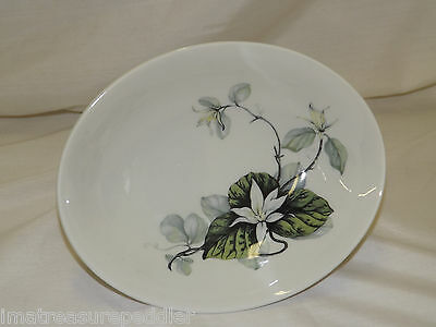 Peter Terris - Shenango China - White Lily - Oval Vegetable Dish Bowl