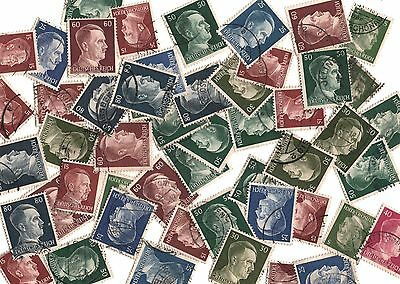 Rare Old Antique Vintage WWII Nazi Germany Hitler Head Stamp War Collectible Lot
