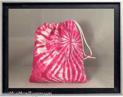 Gymnastics Leotard Grip Bags / Hot Pink Tie Dye Gymnast Birthday Goody Bag
