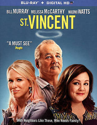 St. Vincent (Blu-ray) FREE SHIPPING !!!!!!