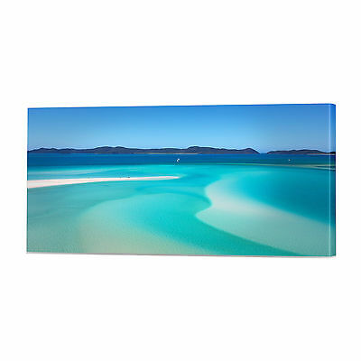 Seascape Beach Canvas Art Print | Framed Ready to Hang Tropical Wall Prints
