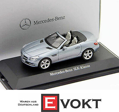Mercedes-Benz SLK Convertible Roadster Galenitsilber Metallic 1:43
