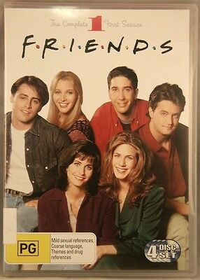 Friends: The Complete First Season: 4-Disc Set (DVD, PG)