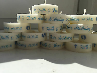 Personalised Baby Christening Candle, Favour, Gift, party baby celebration gift