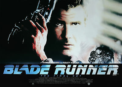 Blade Runner (1982) V2 - A1/A2 POSTER **BUY ANY 2 AND GET 1 FREE**