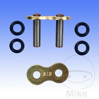 DID Hollow Rivet Soft Link For Motorcycle Chain Gold & Black 525VM2 G&B525VM2
