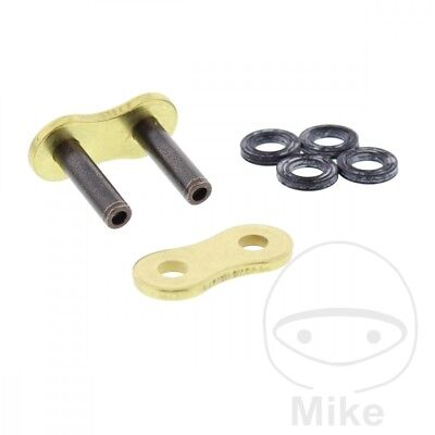 RK Hollow Rivet Soft Link For Motorcycle Chain Gold & BLACK 525GXW