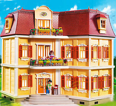 Playmobil #5302 RETIRED All New Grand Mansion DollHouse! -New-Factory Sealed