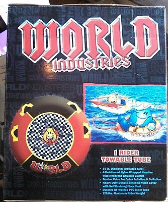 """SPIKE FLAMEBOY World Industries Inflatable Towable Tube 54"""""""