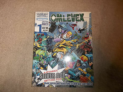 Hero System Mutants & Masterminds Silver Age Sentinels Omlevex crossover