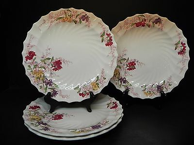 """Vintage Spode Copeland China  Fairy Dell (set of 4) - 10 1/2"""" Dinner Plates .."""