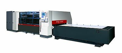 FLOW ABRASIVE WATER jet / Mitsubishi Laser cutting time  Walker, MI