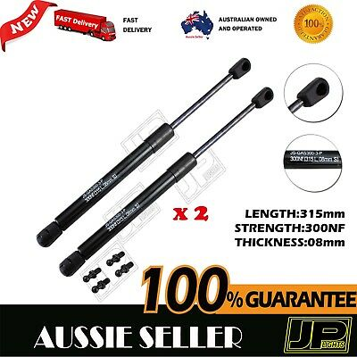 GAS STRUTS PAIR 300NF 315mm (8mm Shaft) CAMPER TRAILER CARAVAN CANOPY TOOLBOX
