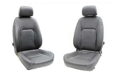 VE Seat Package Holden CalaisV Front Seats Only Sedan Onyx Black Genuine Leather