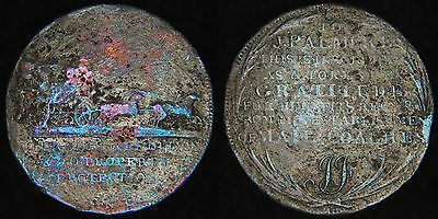 "ENGLAND GB UK - 1797 1/2 Penny Conder Token - Middlesex ""Palmer's Mail Coaches"""