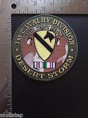 US ARMY 1st CAVALRY  DIVISION DESERT STORM PATCH