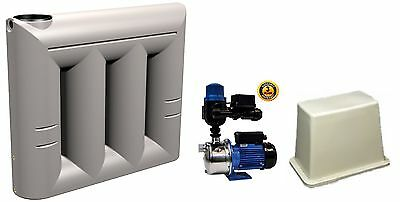 "Water Tanks 2000 litre Super Slimline Builders Package ""Fully Certified"""