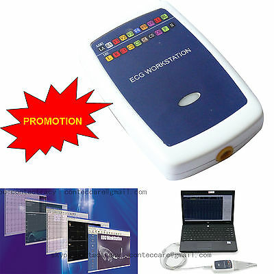 CONTEC8000G 12lead Resting PC-ECG System ECG Workstation,Free Analysis Software