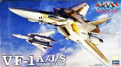 Hasegawa Macross 19 VF-1 A/J/S VALKYRIE 1/72 Scale Kit